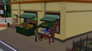 Fruit Stand added on main street, another great addition. in the update