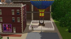 ballooning area on main street (although during debugging, it changed looks ever so slightly..